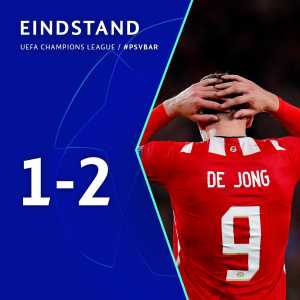 PSV Eindhoven have been eliminated from the Champions League and cannot qualify for the Europa League