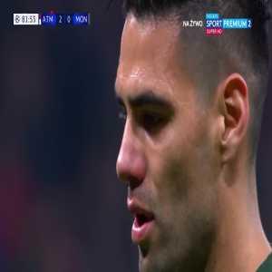 Radamel Falcao (AS Monaco FC) miss from penalty vs. Atlético Madrid [83']