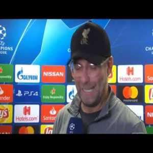 """The Ref Was So Bad"" Jurgen Klopp Post Match Interview | PSG 2-1 Liverpool"