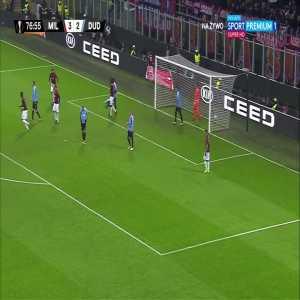 AC Milan [4]:2 F91 Dudelange - Tom Schnell (o.g.) 79'