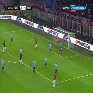 AC Milan [5]:2 F91 Dudelange - Fabio Borini 80'