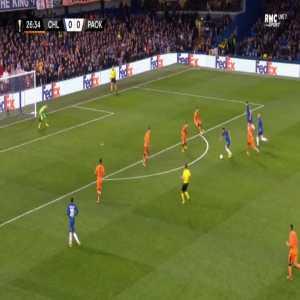 Chelsea 1-0 PAOK - Olivier Giroud 27'