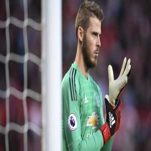 """Jose Mourinho on David de Gea: """"David wants to stay. The point is just to agree the contract. My feeling is that it will finish well."""""""