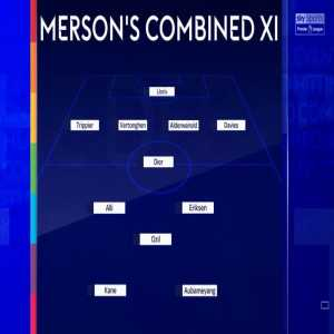 Sky's North London derby combined XI