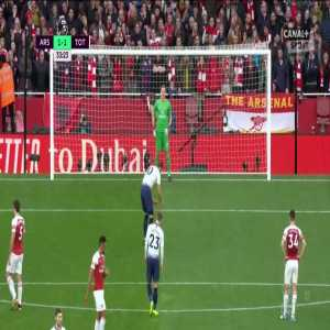 Arsenal 1:[2] Tottenham - Harry Kane 34' (penalty)