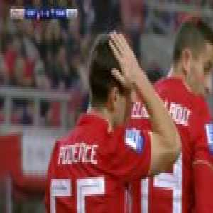 Olympiakos [1]-0 Panetolikos — Daniel Podence 11'
