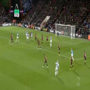 Bournemouth 2-[1] Huddersfield - Terence Kongolo 38'