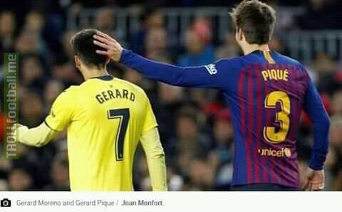 Gerrard Pique??  Oun7