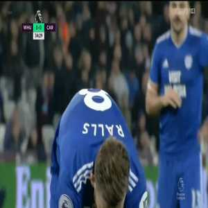 Lukasz Fabianski penalty save against Cardiff 35' (+ call)