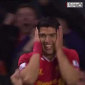 On this day 5 years ago, Luis Suarez scored three stunning goals vs Norwich City