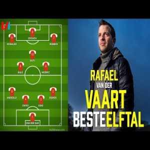 Rafael van der Vaart choses best 11 teammates: Van der Sar, Ramos, King, Chivu, Marcelo, Modric, Guti, Bale, Robben, Crouch, Ronaldo