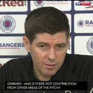 """Understand? Next question."" Steven Gerrard shuts down media at press conference claiming Rangers are overly reliant on Alfredo Morelos"