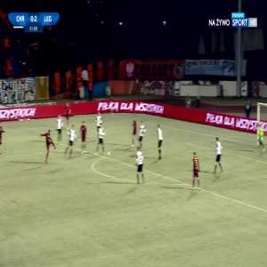 Chrobry Głogów 0:[3] Legia Warszawa - Cafu 82' (Polish Cup, round of 16)