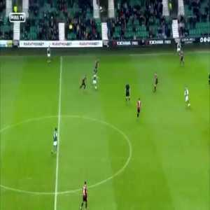 Hibernian 0 - St Mirren 1 : Adam Hammill 5' (great goal)