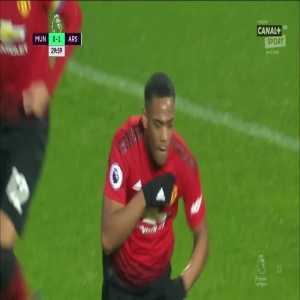 Manchester United [1]:1 Arsenal - Anthony Martial 30'