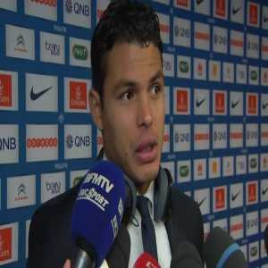 """Thiago Silva: """"In France people say that Strasbourg is the Marseille of the east. It's very strange because Strasbourg has already beaten us."""""""