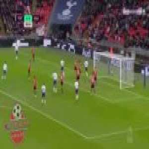 Tottenham [1]-0 Southampton - Harry Kane 9'