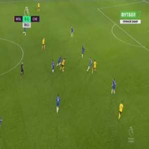 Wolves [1]-1 Chelsea - Raul Jimenez 59'