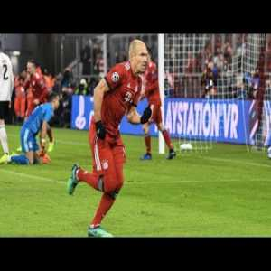 5 minutes of Arjen Robben cutting inside and scoring