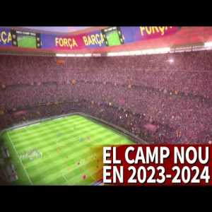 Barcelona's ambitious project to remodel the Camp Nou by 2023-2024 | Diario AS