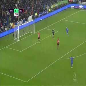 C. Paterson goal (Cardiff [1]-0 Southampton) 73'