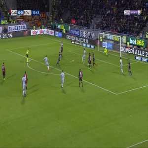 Cagliari 0-1 Roma - Bryan Cristante 14'