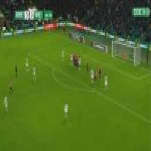 Celtic 4-0 Kilmarnock - Ryan Christie free-kick 45'+1'