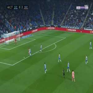 Espanyol 0-3 Barcelona - Luis Suarez 45'