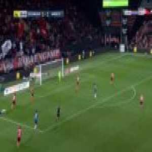 Guingamp 1-[2] Amiens - Stiven Mendoza 81'