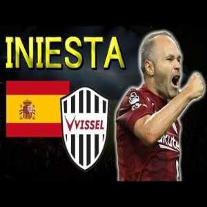 Iniesta's highlights at Vissel Kobe