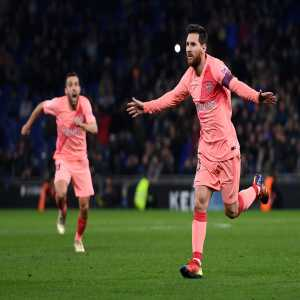 Lionel Messi is the only player in @LaLigaEN history to have scored 10+ goals in 13 consecutive seasons.