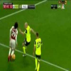 Matteo Guendouzi gets booked for diving