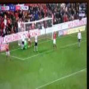 Nottingham Forest 0 - 1 Preston - Rudd great save (79')