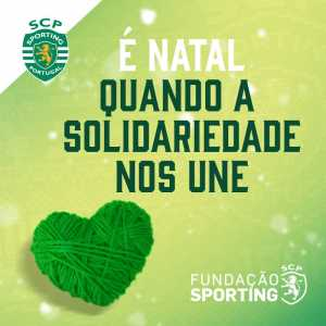 Sporting CP to promote a campaign before Sunday's match with the purpose of donating clothes, food and other goods to the homeless