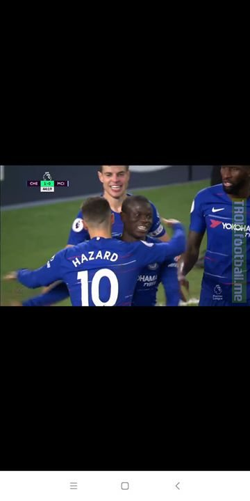 Two Best Players Of Epl!🔥🔥  Kante Scores For Chelsea.🔥