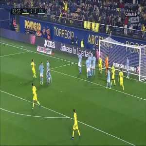 Villarreal [1]:3 Celta Vigo - Carlos Bacca 83'