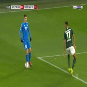 Wolfsburg 0-1 Hoffenheim - Ishak Belfodil 4'