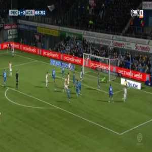 Zwolle 1-[3] Ajax - Lasse Schone 69'