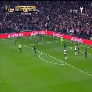 Benedetto (Boca Juniors) goal vs. River Plate (0-[1]) (2-[3] on aggregate)