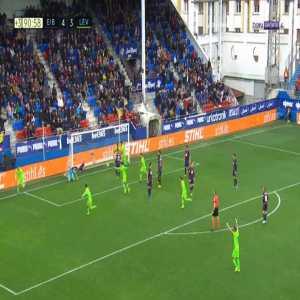 Eibar 4-[4] Levante - Borja Mayoral 90'+1'