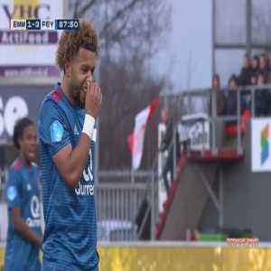 FC Emmen 1-[4] Feyenoord - Tonny Vilhena penalty 89'