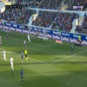 Huesca 0-1 Real Madrid - Gareth Bale 8'
