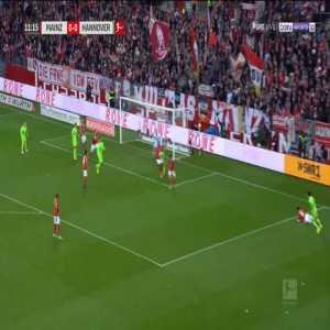 Mainz 0-1 Hannover - Hendrik Weydandt 12'