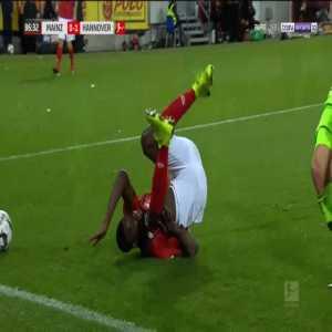 Mainz [1]-1 Hannover - Daniel Brosinski penalty 89'