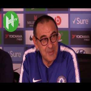 Maurizio Sarri: Eden Hazard can be a Chelsea striker