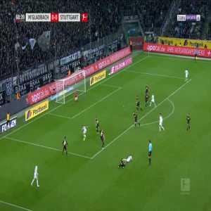 Monchengladbach 1-0 Stuttgart - Raffael 69'