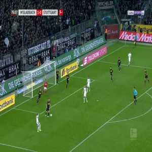 Monchengladbach 2-0 Stuttgart - Florian Neuhaus 77'