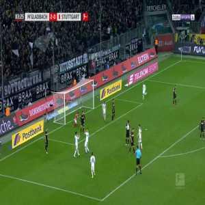 Monchengladbach 3-0 Stuttgart - Benjamin Pavard OG 84'