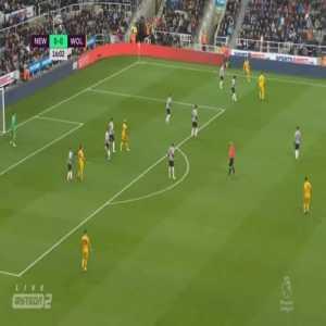 Newcastle 0-1 Wolves - Diogo Jota 17'