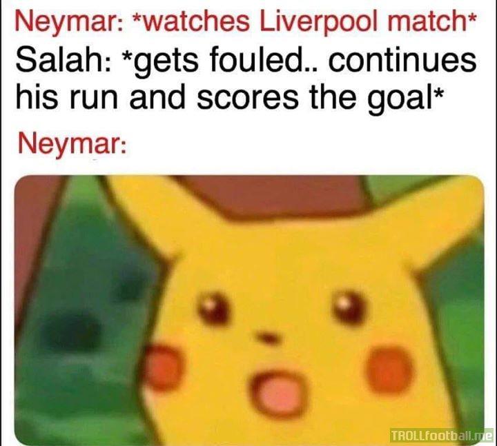 Neymar surprised 🤣